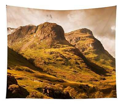 Three Sisters. Glencoe. Scotland Tapestry