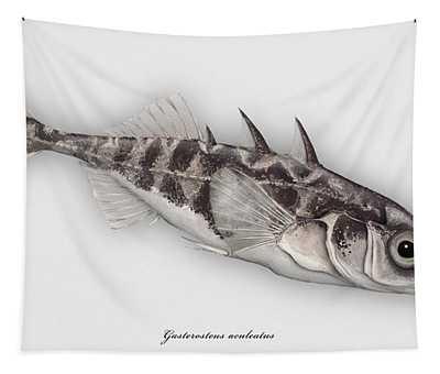 Three-spined Stickleback Gasterosteus Aculeatus - Stichling - L'epinoche - Espinoso - Kolmipiikki Tapestry