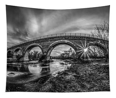 Tiffany Bridge Monochrome Tapestry