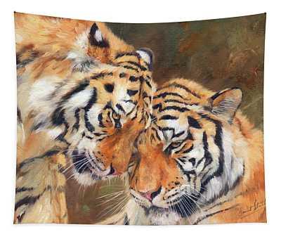 Tiger Love Tapestry