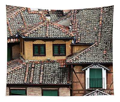 Tiles And Shutters Tapestry