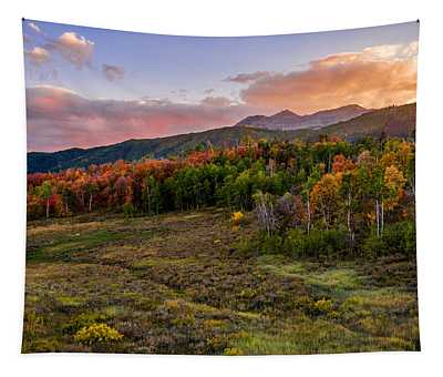 Timp Fall Glow Tapestry