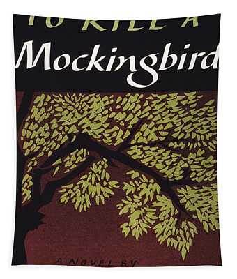 Tapestry featuring the photograph To Kill A Mockingbird, 1960 by Granger