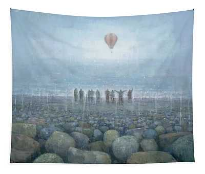 To The Mountains Of The Moon Tapestry