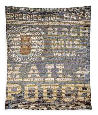 Tobacco Advertisement Tapestry