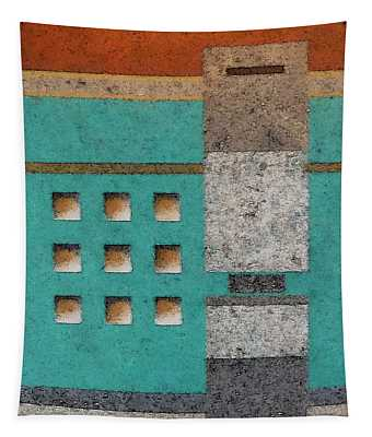 Tokyo Crossing Tapestry