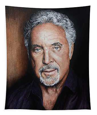 Tom Jones The Voice Tapestry