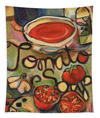Tomato Soup Recipe Tapestry