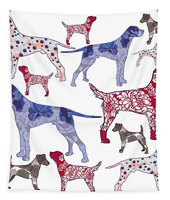 Top Dogs Tapestry