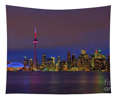 Toronto By Night... Tapestry