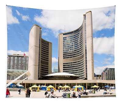 Toronto City Hall, Nathan Phillips Tapestry