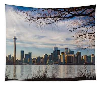 Toronto Through The Trees Tapestry