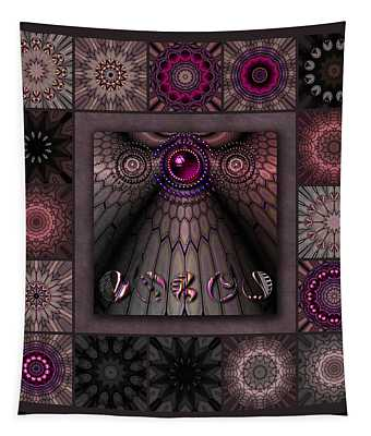 Tortured Glass Redux Tapestry