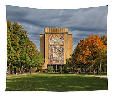 Touchdown Jesus Tapestry