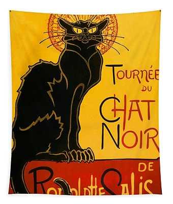 Tournee Du Chat Noir Tapestry