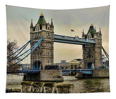 Tower Bridge On The River Thames Tapestry