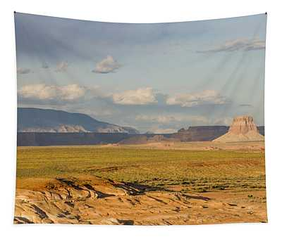 Tower Butte View Tapestry