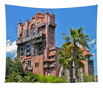 Tower Of Terror Tapestry