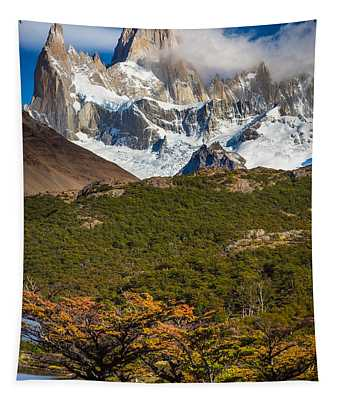 Towering Fitz Roy Tapestry