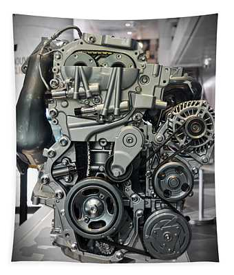 Toyota Engine Tapestry