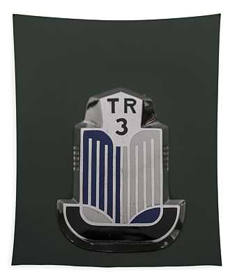 Tr3 Hood Ornament 2 Tapestry