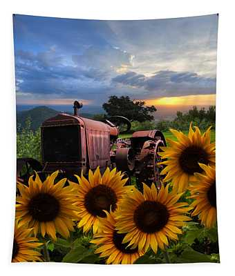 Tractor Heaven Tapestry