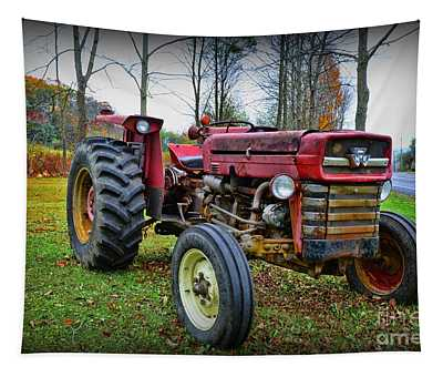 Tractor - The Farmers Car Tapestry