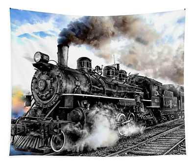 Train Series 01 Tapestry