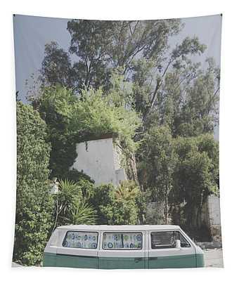 Travelling Vintage Wander Wolkswagen.  Tapestry