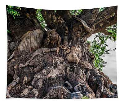 Tree Of Life Close Tapestry