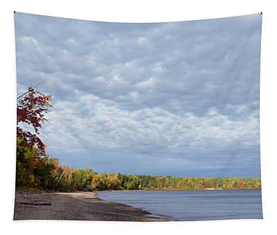 Trees At The Lakeside, Lake Superior Tapestry