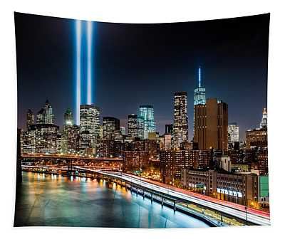 Tribute In Light Memorial Tapestry