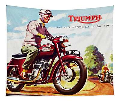 Triumph 1958 Tapestry