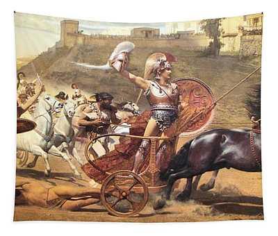 Triumphant Achilles Tapestry