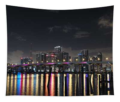 Trooper Bridge Miami Tapestry