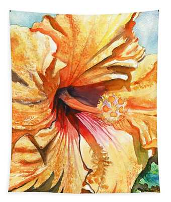 Tropical Hibiscus 3 Tapestry