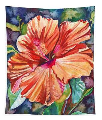 Tropical Hibiscus 5 Tapestry