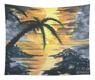 Tropical Sun Tapestry