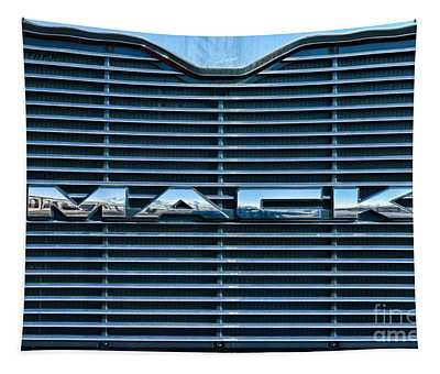 Truck - The Mack Grill Tapestry