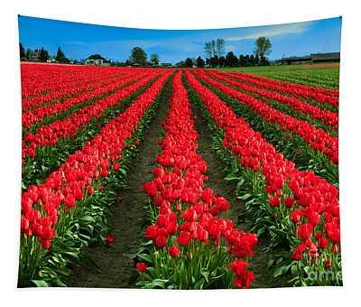 Tulip Cornucopia Tapestry