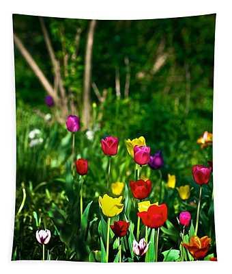 Tulip Rainbow Tapestry