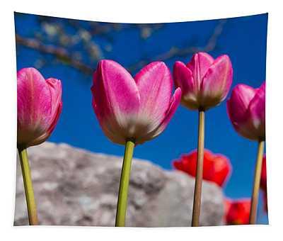 Tulip Revival Tapestry