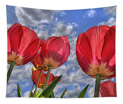 Tulips Are Better Than One Tapestry