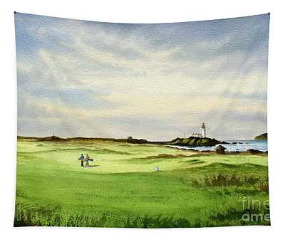 Turnberry Golf Course Scotland 12th Tee Tapestry