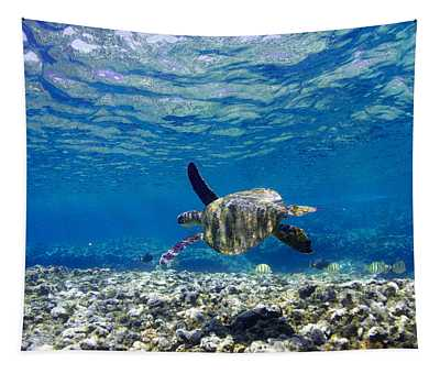 Turtle Cruise Tapestry
