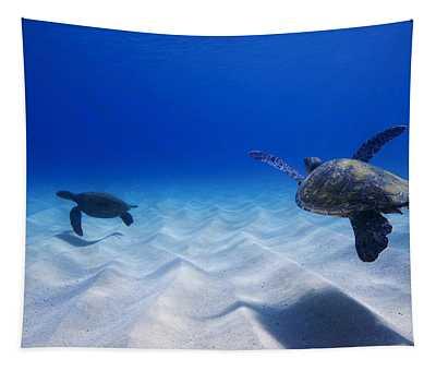 Turtle Pair Tapestry