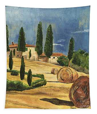 Tuscan Dream 2 Tapestry