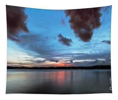 Twilight On Lake Lanier Tapestry