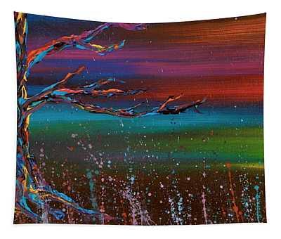 Twilight Sun Tapestry