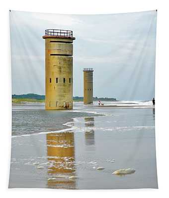 Twin Towers At Whiskey Beach Tapestry
